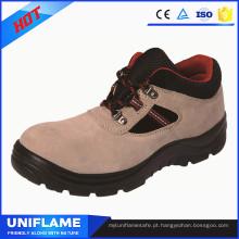 Sapatos de trabalho de segurança de couro de mulheres à moda Ufa087