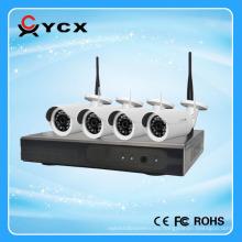 2016 El fabricante más nuevo del kit del IP WIFI de la radio de los 4CH 960P 100m con el CE FCC ROHS Cetification