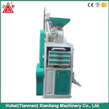 Preço pequeno da maquinaria do moinho de arroz da eficiência pequena