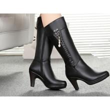 Schwarz Neue Sexy Frauen High Heel Stiefel