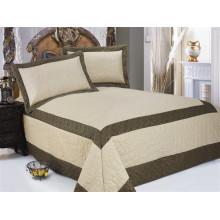 3pcs satin / microfibre matelassé couvre-lit en satin