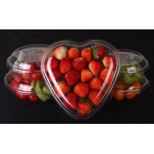 Pet Clear Plastic Compartment Take Away Salad Food Container Tray 1