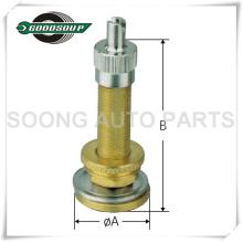 Válvula de neumático V517 Válvulas sin cámara de gran calibre, válvula de goma Válvula de neumático