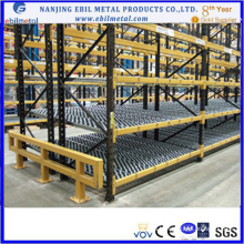 CE-сертифицированная промышленная картонная стеллажи с роликом