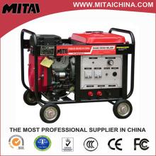 Máquina de soldadura con motor diesel 350A fabricada en China