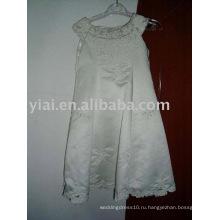 Пользовательские Оптовая платье девушки цветка AN1239