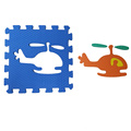 Melors Puzzle Play Mat Alfombras de suelo para niños con Traffic Shapes Pop-Out