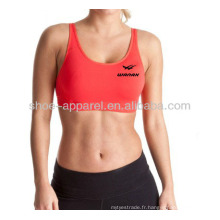 2014 Hot design dames fitness top Chine