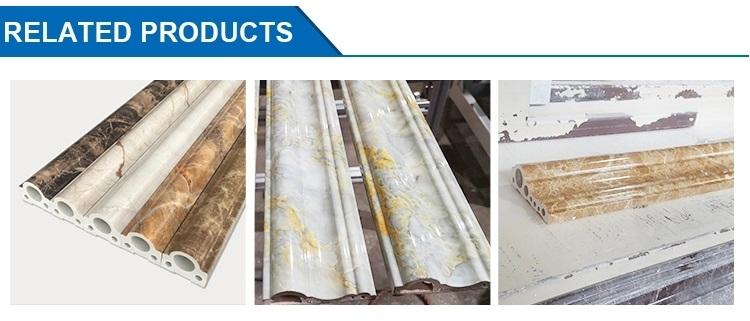 PVC stone profile extrusion line