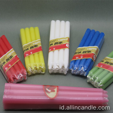Colorful 11g Lilin Parafin Lilin ke Irak