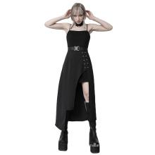 OPQ-919LQF Chinoiserie Night Club Party Street Ladies Summer Fresh Dress Pure Color Short Sleeve Square Neck Women Fashion Dress