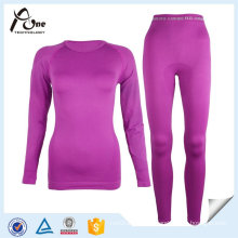 Custom Women Cheap Seamless Thermal Underwear Set