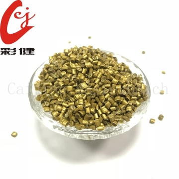 Gold No Spraying Masterbatch Granules