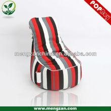 Silla de beanbag del juego grande de la raya, silla del beanbag del juego del uso de interior