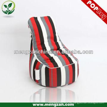 Streifen große Spiel Sitzsack Stuhl, Indoor-Einsatz Spiel Sitzsack Stuhl