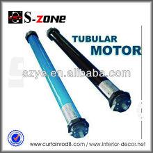 UV proteger automáticamente al aire libre sombreado de sol motorizado persiana inalámbrica 35 mm de motor tubular