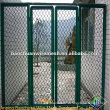 El polvo verde cubrió el acoplamiento de alambre de guarda con alta calidad y precio razonable en almacén