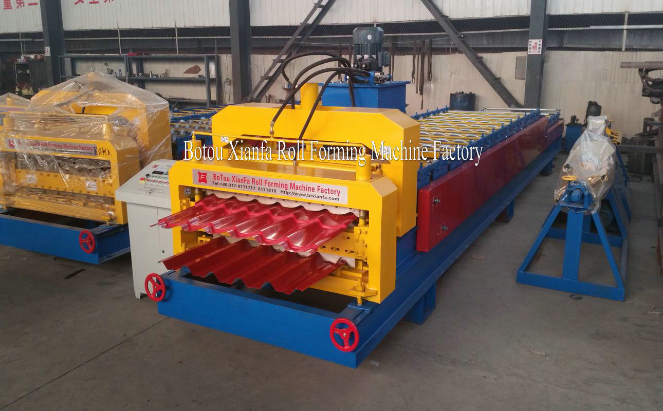 Double Deck rollforming machine