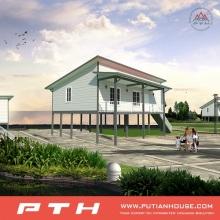 Light Steel Villa House as Prefab Luxury Modular Living Building