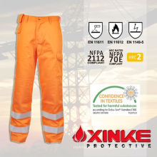 CVC flame retardant cargo work wear pants