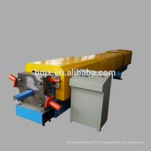 Machine de formage de rouleaux de descente