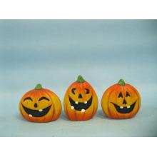 Calabaza de Halloween Arte y Artesanía de Cerámica (LOE2375-A5.5)