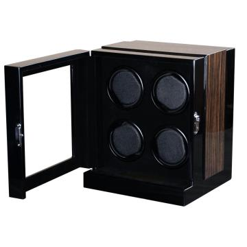Quad Rotors Watch Winder With Lock