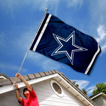 Kostenlose Probe individuell bedruckte Polyester Dallas Cowboys Flagge