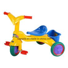 Nuevo modelo colorido paseo en bicicleta bebé triciclo para niños