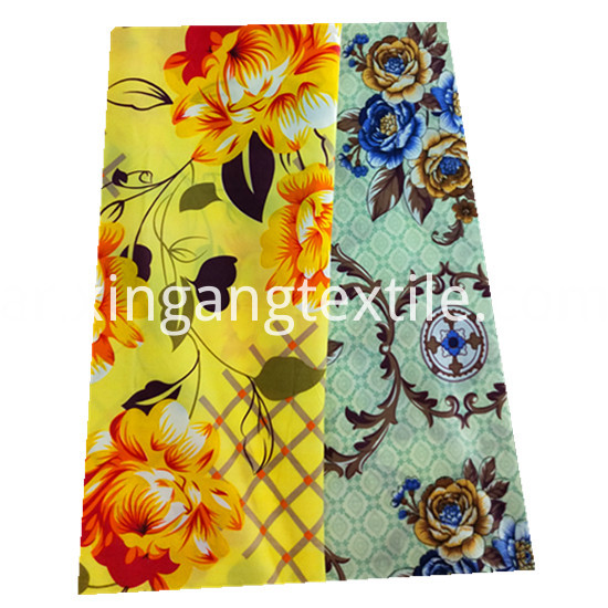 Beautiful Flower Designs Printing 100 Polyester Microfiber