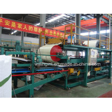 Chaude Chine Polyuréthane Sandwich Panel Production Line avec Ce