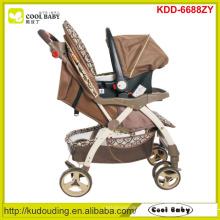 2015 Carrinho de bebê novo 2 a 1 Fabricante NOVO Carrinho de criança de bebê com assento de carro para o inverno