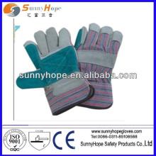 Sunnyhope cowhide dividir luvas de couro cheias, luvas de couro