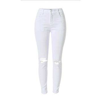 Hurtownia Jean Skinny-Leg Cut Cotton Jeans Women