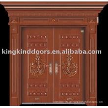Luxus Kupfer Tür Villa Tür Außentür JKD-9006