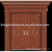 luxury copper door villa door exterior door JKD-9006