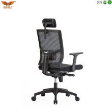 High Back Office Mesh Swivel Chair with Headrest Mesh Chair-801
