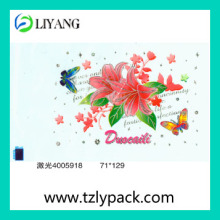 Glitter Heat Transfer Film for Plastic Produce Made in China Hot Sale