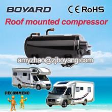 Dach oben montiert r407c horizontale Kompressor für Caravan elektrische Klimaanlage