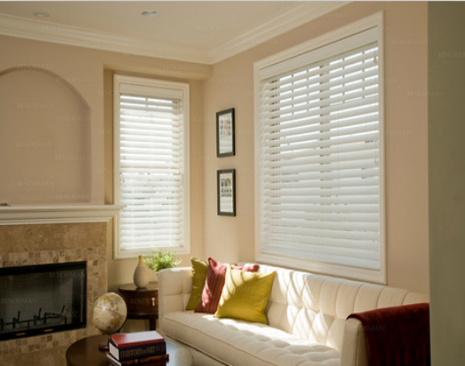 "2""Corded Faux Wood Blinds"