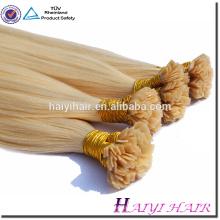 плоским наконечником волос девственницы человеческих волос Remy