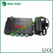 Programable K4000C dmx 512 rgb led controlador rgb nuevo controlador de píxeles