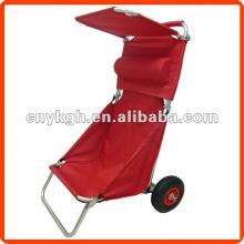 Roda de carrinho de camping de alumínio com freio
