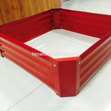 Raised Bed Vegetable Garden bed / galvanized steel planter box