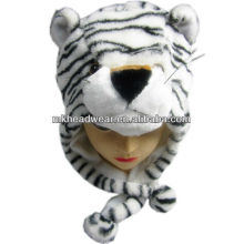 kids lovely plush tiger hat