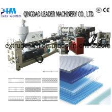 Máquina de techado Flate de policarbonato Lexan