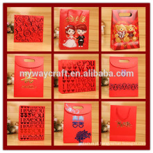 Custom Handmade Recycle Luxury Promotional Shopping Paper Bag
