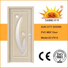 ПВХ поверхность МДФ межкомнатные деревянные двери