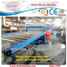 técnica de celuka línea de producción estándar del tablero de la espuma del pvc wpc de Alemania