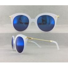 Lunettes de soleil en plastique pour femmes à lunettes chaudes P02008